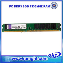 Long time warranty 1333D3N9/8G 8bits kit ddr3 8gb (1x8gb) pc3-10600 memory