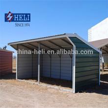 Metal rifugio/acciaio cavallo rifugio/mobile casa prefabbricata in acciaio/struttura in acciaio casa