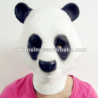 Hot Sell Panda Animal Mask Rubber Party Mask Head Costume
