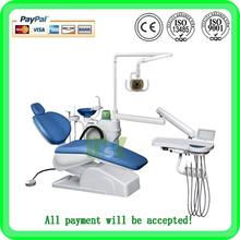 (MSLDU15) Economic 3-memory Program Dental Chair Unit With Led Sensor Lamp Light Cure And Scaler