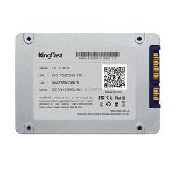 """kingfast F9 128gb 2.5"""" sata3 mlc ssd with 2.5 ssd case"""