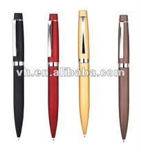 2012 spring design twist metal ballpoint pen for promotion