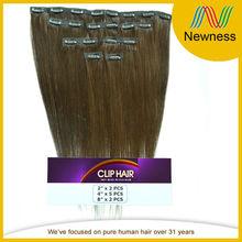 cheap full head clip in hair extensions for black women pre-bonded human hair extension make hair chalk