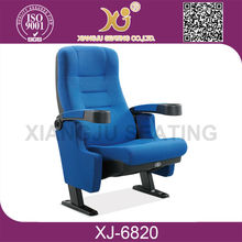XJ-6820 fixed seat pushing back cinema chair, cinema seating,home theater seating lazy boy chair recliner