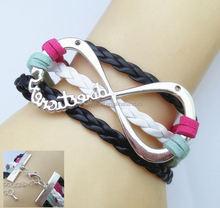 Infinity Bracelet,Lucky tree and Birds Friendship Bracelet Beadia