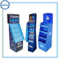 Baby shop retail paper pallet display for diaper, pamper cardboard advertising