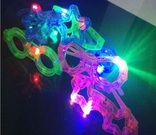 Night funny creative led kid light glasses