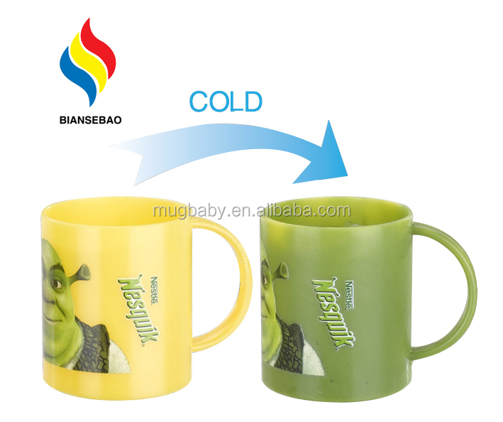personalized milk cup for kids color changing plastic cup buy
