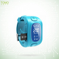 Waterproof anti-lost silicone wrist personal locator, android gps smart watch