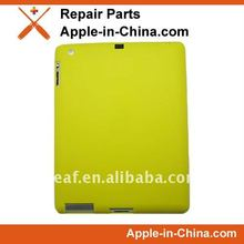 Soft Silicone Protective Skin Case for iPad 2-yellow color
