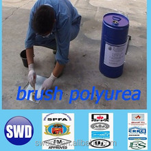 one componet moisture cure high elastic polyurea