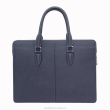 New Arrived designer men's leather bag fashion briefcase