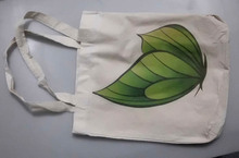 natural recyclable cotton shopping bags manufactured