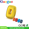 Guoguo Newest Donut 2015 portable 4400mah power bank fast charging ,mobile bank other charges