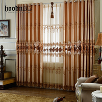 Hoodn brand living room window curtain with classical design
