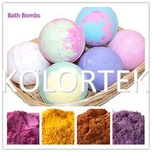 natural inorganic coametic grade pigments, bath bomb colorant