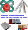 Gold-up printing material auxiliary screen printing squeegee/scoop coater/spatulas mesh frames