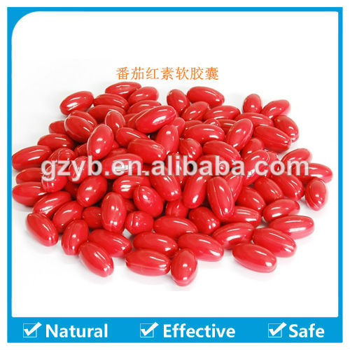 GMP Certified Supplier Beauty Product 500mg Lycopene Soft Capsule