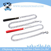 With Hot Selling Adjustable Dog Pet Products,Silver Dog Training Of Steel Dog Chain