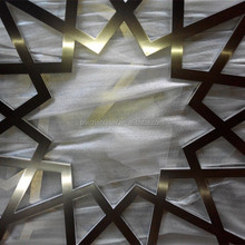 laser cut pattern alu sheet decoration