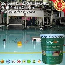 cememt floor concrete strengthen liquid epoxy floor paint