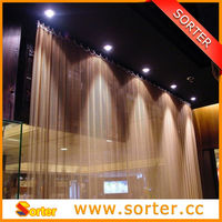 Architectural Metal Coil Drapery
