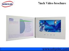 Promotional video brochure/lcd video brochure card/lcd video brochure for Christmas