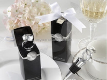 Wedding Favors - With Crystal-Ring Bottle Stopper wedding shower gift