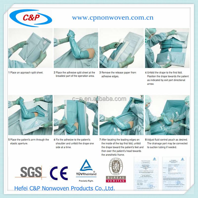 Sterile Shoulder Bone Or Elbow Joint Surgery Drape P Ack