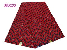 2015 new arrival beautiful african wax fabric good sell good quality for women