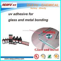 uv3320- uv adhesive for glass and metal bonding