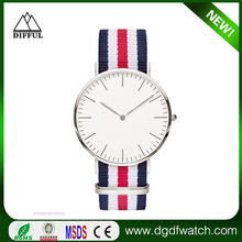 promotional gifts logo customized luxury watch for man an ladies