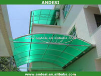 roofing plastic canopy sheet material