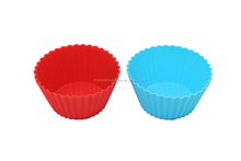 Colorful silicon baking cake mould mat
