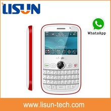"2.4"" gsm quad band dual sim card TV wifi qwerty keyboard China mobile phone with flash cheap price"