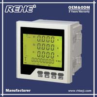 Free Sample Available Digital Panel Three Phase Digital Multimeter with RS-485 RH-3HD6Y