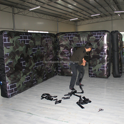 inflatable bunker, inflatable paintball bunkers, military bunkers