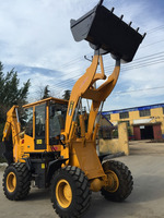 hydraulic back loader with earth digger WZ25-16