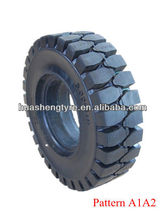 CHINA factory High quality 5.00-8 solid rubber tire for industrial vehicle