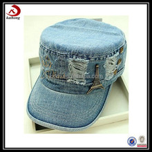 Promotional diamond lace flat hat