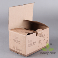 Small Die Cutting 3 Layer Carton Box Tuck Top Box
