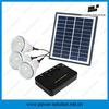 4W/8W mini solar power lighting system for rural home lighting