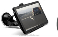 mtk800 portable car gps navigation with sd card slot 7 inch free map