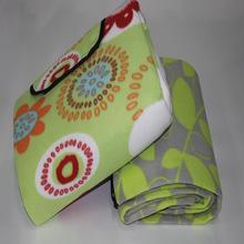 Brand new polyester mat fleece carpet for outdoor picnic