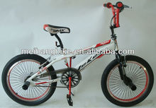 20 bmx bike and steel bicycle frames