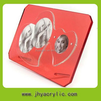 high transparent clear picture frame /open hot sexy girl photo or photo picture frame