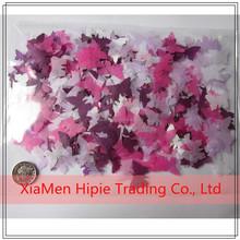 Forma de la mariposa Biodegradable papel de la boda confeti multicolor