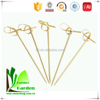 Round Cheap Barbeque Bamboo Skewers for Vegetables
