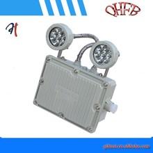 Ex prueba de emergencia LED de doble cabeza de la luz