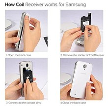 lowest price & international quality YUPIN wireless charger coil for Samsung Galaxy Note3 on hot selling